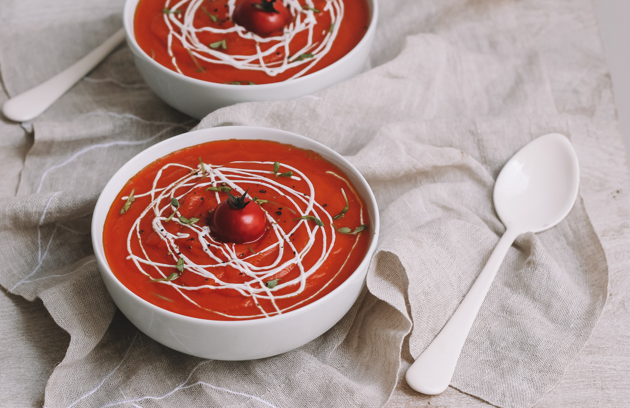 Red spice soup
