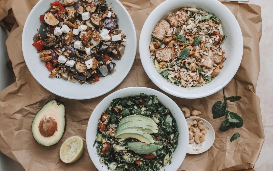 Quinoa 3 ways