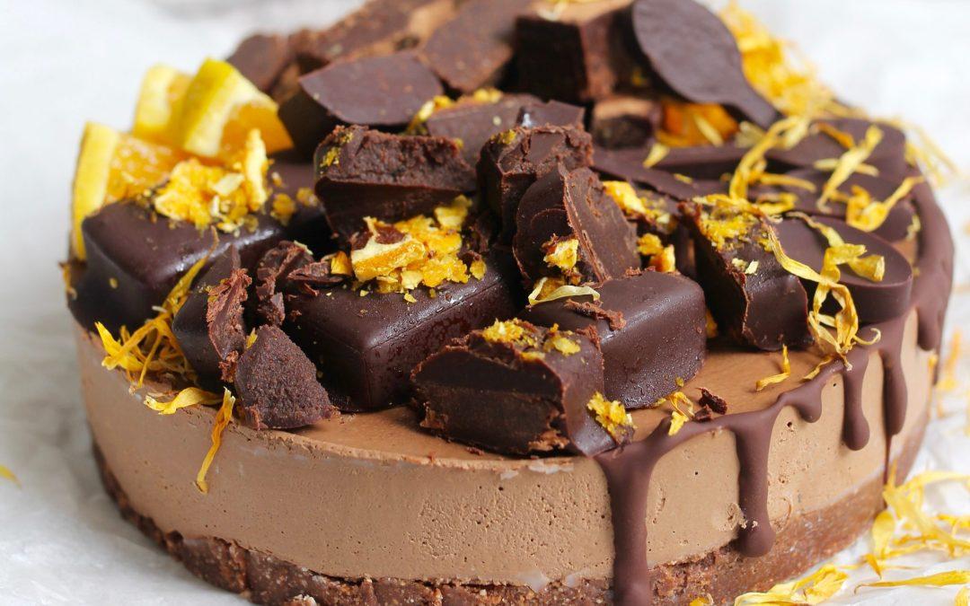 Jaffa cheesecake