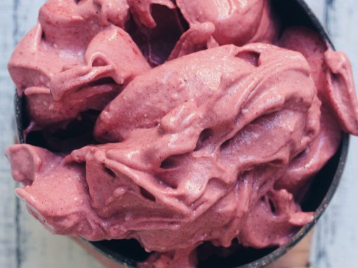 Berry beetroot nicecream