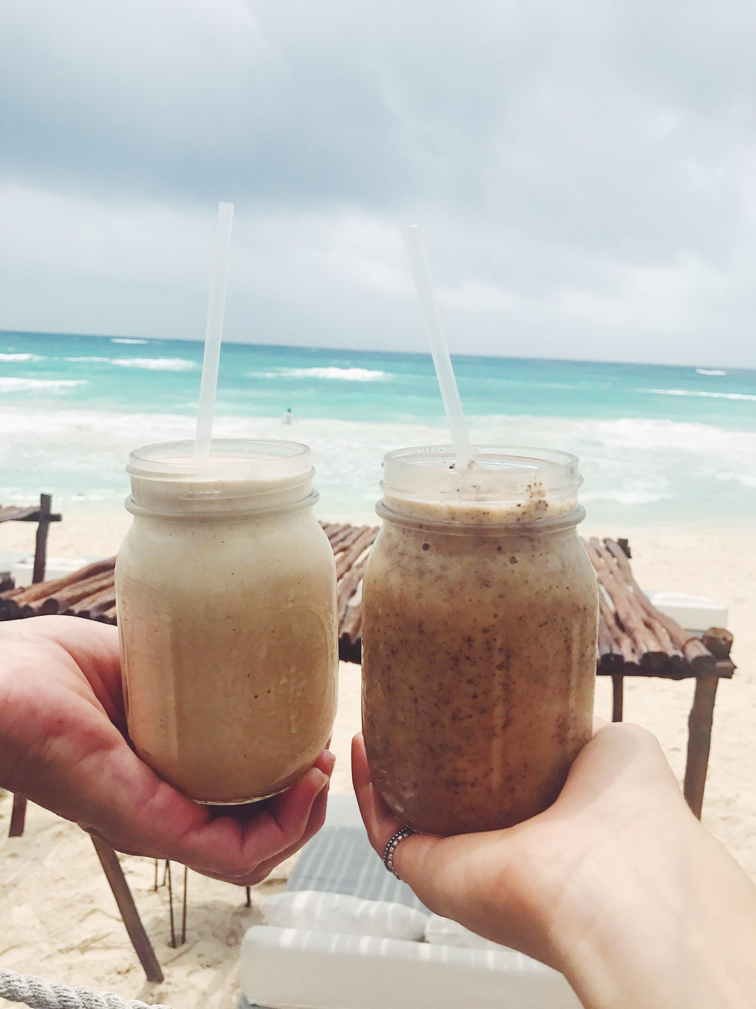Thick shakes at The Real Coconut