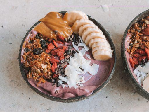 Hawaiian style acai bowl