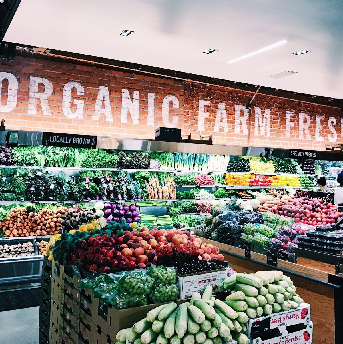 LA supermarket