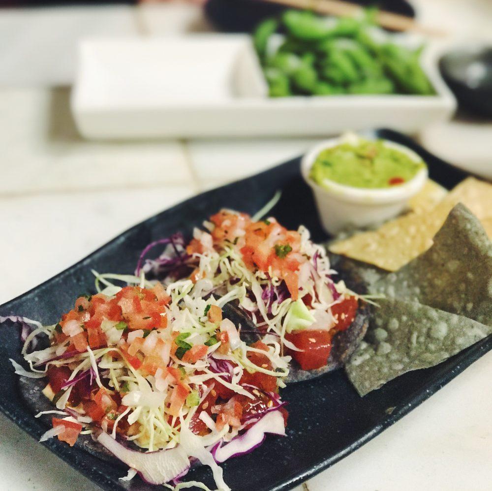 LA tacos and wabi