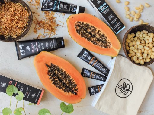 Why we love P'URE Papaya Care