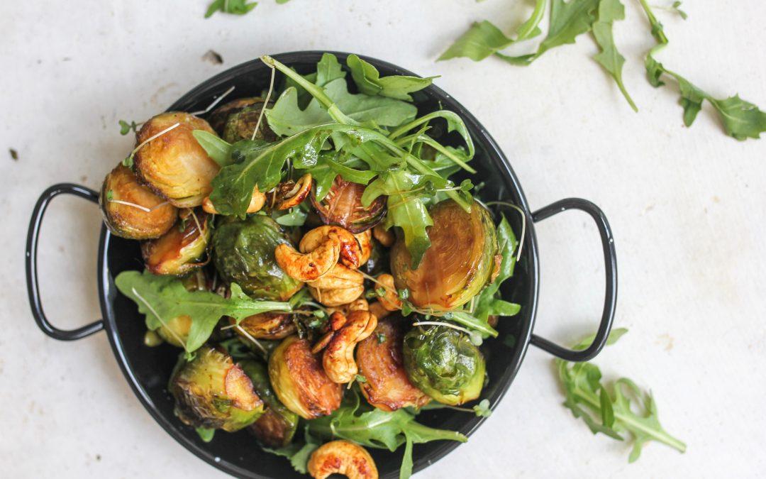 Tamari brussel sprouts