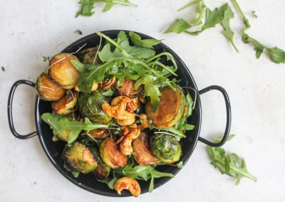 Tamari brussels sprouts recipe, crispy brussels sprouts