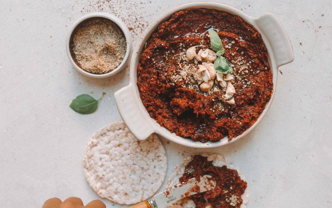Harissa Red Pesto