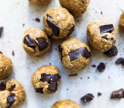 Cookie Dough Collagen Protein Balls