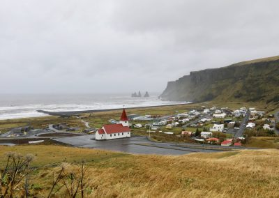 Iceland town of Vik