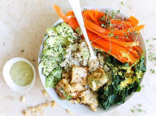 Satay Tofu Salad