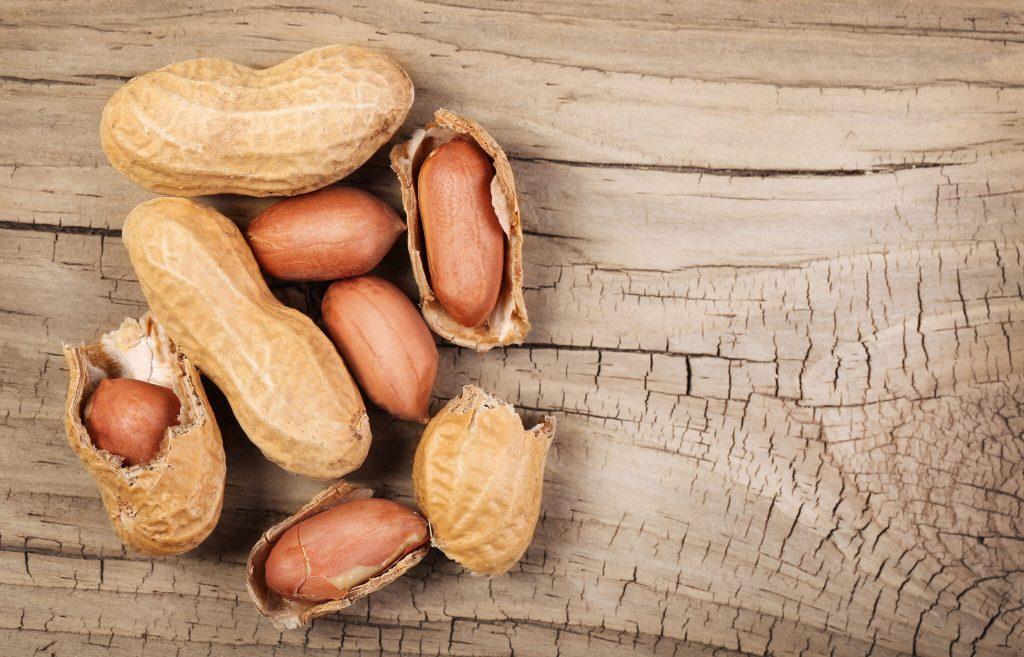 B vitamins peanuts