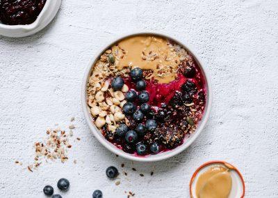 Quinoa porridge gluten free dairy free vegan